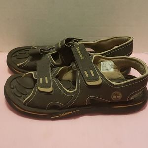Mens size 7 Timberland canvas sandals